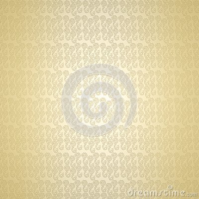 Baige elegant floral damask pattern background