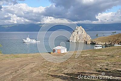 Baikal. Olhon island.