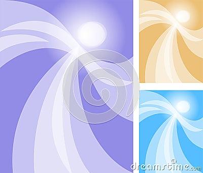 Bailarín abstracto del ángel