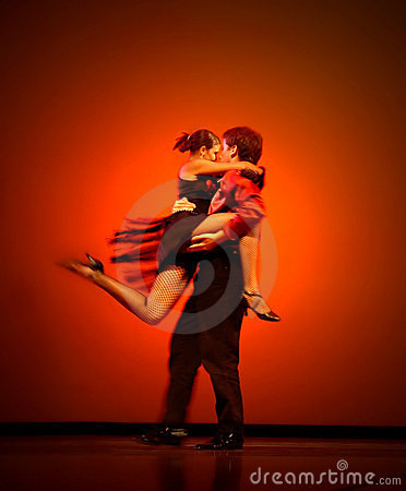 Bailarines clásicos Foto de archivo editorial