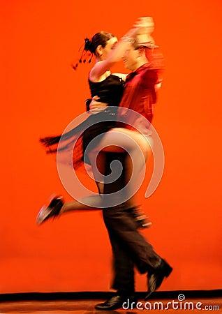 Bailarines clásicos