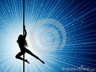 Bailarín de poste