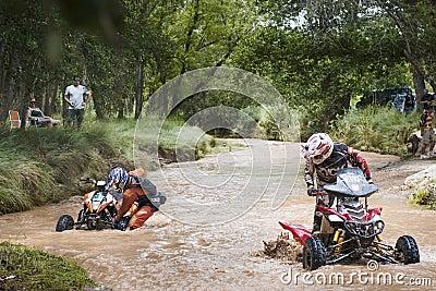 Baja Aragón 2013 Imagen de archivo editorial