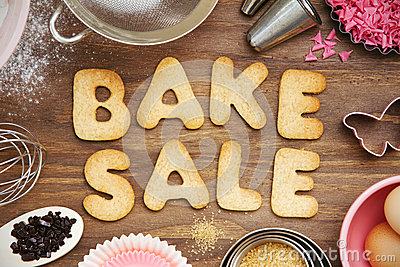 Bake Sale Cookies Stock Photos - Image: 38668723