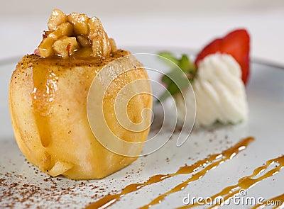 Baked apple dessert