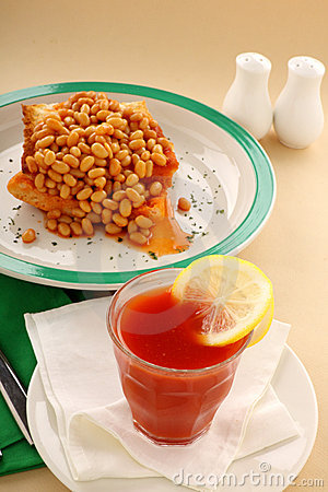 Baked Beans And Juice