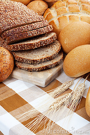 Free Baked Breads Stock Image - 14703741