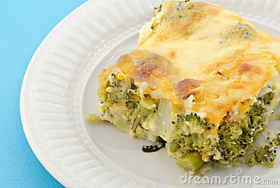 Baked Broccoli Pie