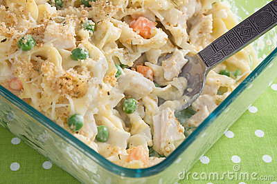 Baked Chicken Noodle Casserole