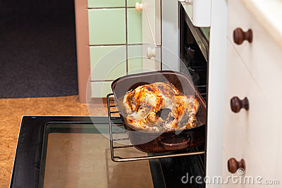Baked chicken in oven