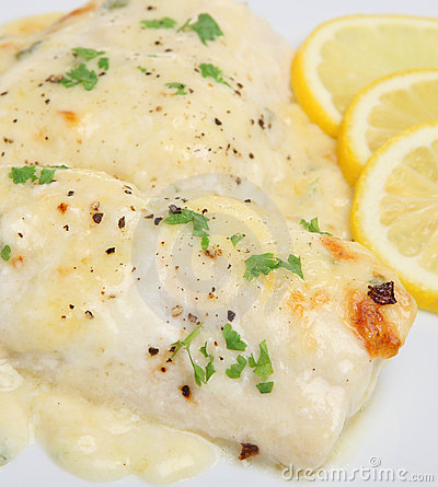 Baked Fish in Cheese Sauce