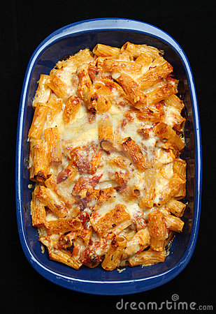 Baked Pasta with Chicken & Cheese