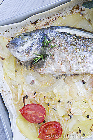 Baked Sea Bream