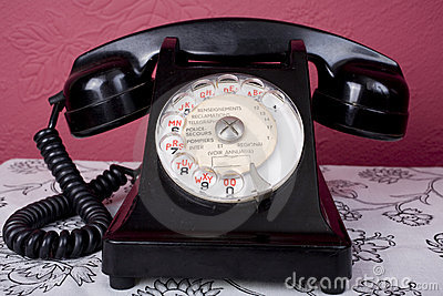 Bakelite French Phone