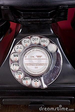 Bakelite Phone Dial
