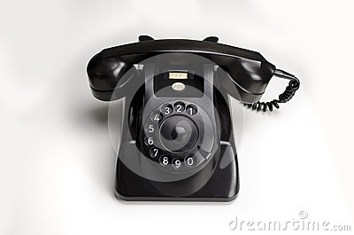 Bakelite telephone 1955