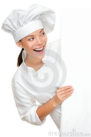 Free Baker, Chef Or Cook Sign Royalty Free Stock Image - 23356096