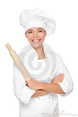 Free Baker / Chef Woman Stock Images - 20931734