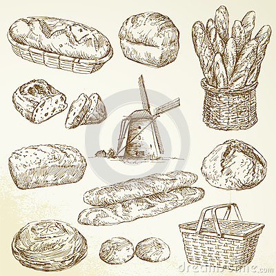 Free Bakery, Bread, Baguette Stock Photography - 26787672