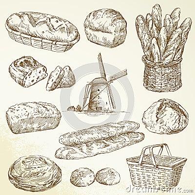 Bakery, bread, baguette