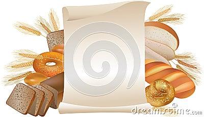 Bakery scroll