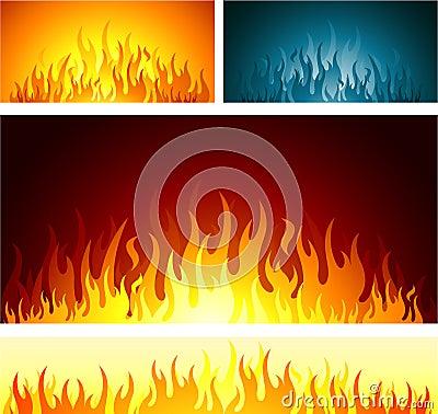 Bakgrundsbrand