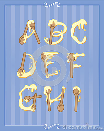 Baking Alphabet