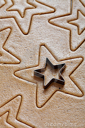 Free Baking Christmas Cookies Royalty Free Stock Photography - 21328577