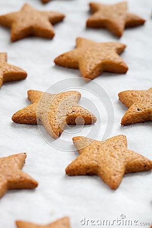 Free Baking Christmas Cookies Stock Photos - 21328713