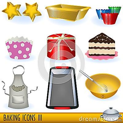 Free Baking Icons 3 Royalty Free Stock Photo - 14667015