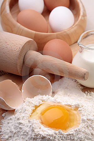 Free Baking Ingredients Stock Photography - 6005482