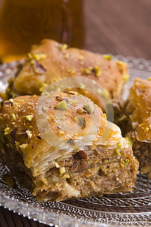 Baklava - traditional sweet desert