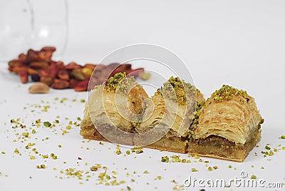 Baklava - turkish dessert