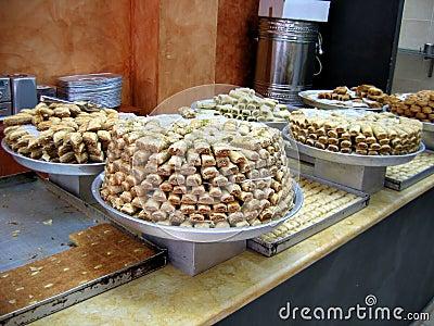 Baklawa Oriental sweets