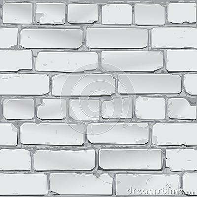 Bakstenen Muur Grijs Vector Vector Illustratie - Afbeelding: 55629777