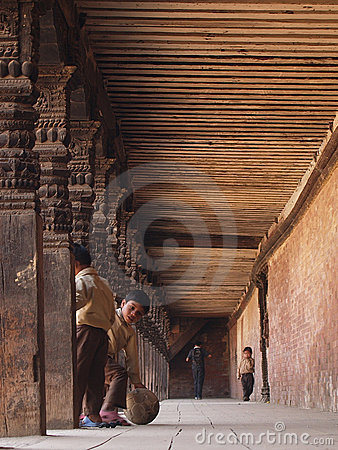 Baktapur尼泊尔 编辑类库存图片