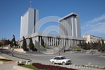Baku, Azerbaijan parliament house