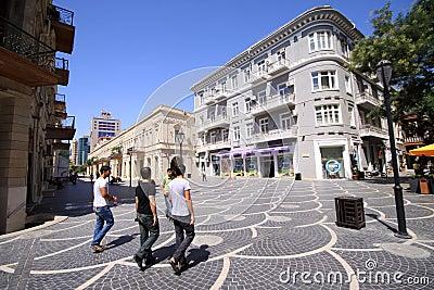 Baku City Editorial Photo