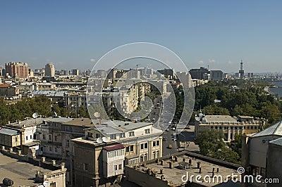 Baku panorama.