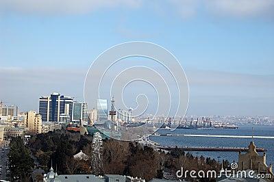 Baku view