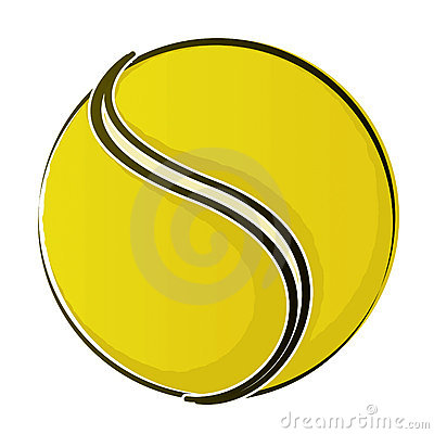 Bal 2 van het tennis