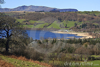 Bala gwynedd jezioro Wales