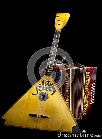 Balalaika and accordion