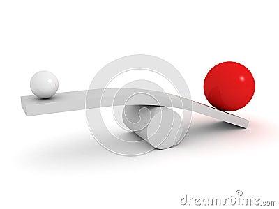 Balance business concept