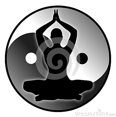 Balance and Harmony Vector Illustration
