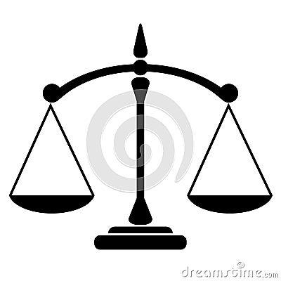 Balance icon Vector Illustration