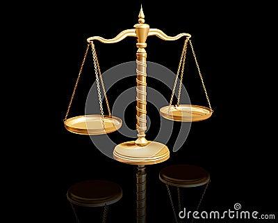 Balance on reflective surface