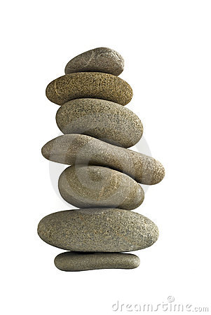 Balance stone tower