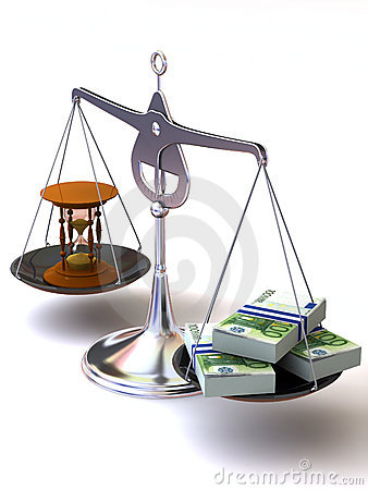 Balance of time and money