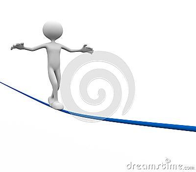 Balance wire